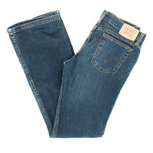 Levi's 518 Jeans Red Tab Superlow Boot Cut 9 31x33
